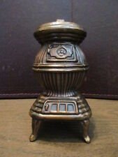 Vintage Pot Belly Stove Bank - Cook Stove - Still Penny - Piggy Bank