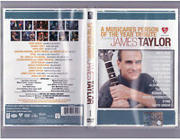 Dvd James Taylor - A Musicares Person Of The Year Tribute 2006 (rare)