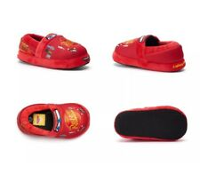 NWT! Disney Little Boy's Girls Size L (9-10) Cars Lightning McQueen Slippers