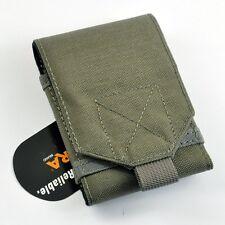 CORDURA FABRIC Military Phone Case Pouch Foliage Green