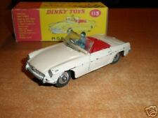 Dinky   #113  M.G.B. Sports Car