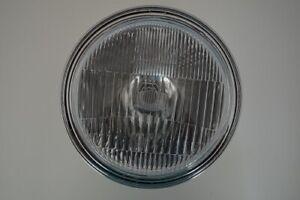 "8"" Chrome Motorcycle Motorbike Headlight For Cafe Racer Brit Bagger 12v55/60w H4"