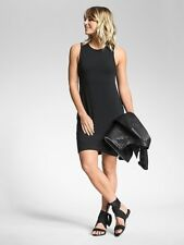 NWT $89 ATHLETA La Palma Dress Size SMALL S Black