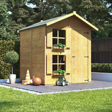 6x5 BillyOh Peardrop Junior Wooden Playhouse Outdoor Playground with Bunk