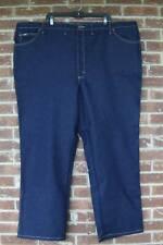 NWT Mens 52 X 30 Lee Regular Fit Straight Leg Comfort Stretch Dark Wash Jeans