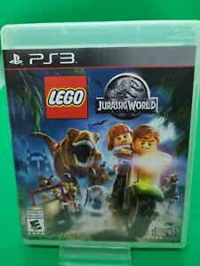LEGO Jurassic World (Sony PlayStation 3, 2015) PS3 Case and Disc only