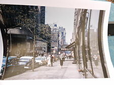 1963 NBC Telivision Studios Times Square New York City Color Photo 8 x 10
