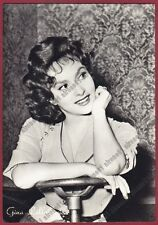 GINA LOLLOBRIGIDA 54 ATTRICE ACTRESS CINEMA MOVIE STAR PEOPLE Cartolina FOTOGRAF