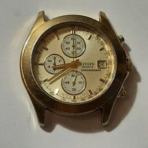 Montre Wach Vintage CITIZEN Quartz Chronograph