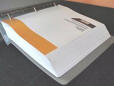 CASE CX160B 160 TIER 3 CRAWLER EXCAVATOR TRACTOR PARTS MANUAL CATALOG W/BINDER