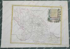 """LOMBARDIA. """"IL DUCATO DI MANTOVA."""". Bella carta. Venezia 1781, A. Zatta."""