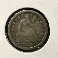 1853 10c SEATED LIBERTY DIME *NICE VERY GOOD ARROWS COIN* LOT#AF81