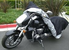 High Quality Heavy Duty Motorcycle cover (XL) with cable & lock. Fits up to 94""