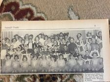 B1-4 ephemera 1961 picture all children happt feet cast broadstiaurs