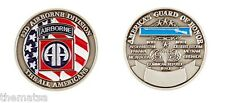 ARMY 82ND AIRBORNE THE ALL AMERICANS GUARD OF HONOR MILITARY CHALLENGE COIN