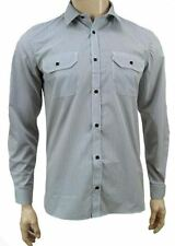 Unbranded Polycotton Striped Casual Shirts & Tops for Men