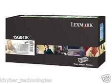 Lexmark 15g041K Black Laser Toner Cartridge 6K