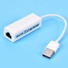 Micro USB 2.0 macho a hembra RJ45 de red LAN Ethernet adaptador convertidor /