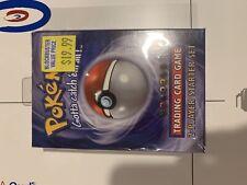 Pokemon Base Set 2-Player Starter Deck Factory Sealed (MINT) First Edition