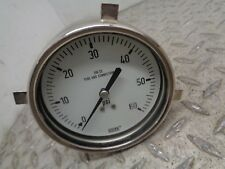WIKA PRESSURE GAUGE 316 SS TUBE AND CONNECTION
