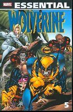 Marvel Essential Wolverine 5 TPB new unread