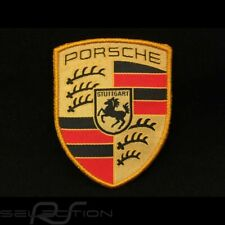 Badge Porsche original Patch Ecusson à coudre WAP10706714