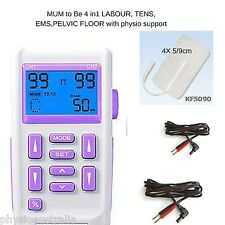 MumsToBe Labour TENS MACHINE  4 in 1 Obstetric Maternity muscle stimPelvic floor