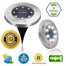 SLK GREEN Upgraded 8 LED Solar Power Waterproof Landscape Garden/Yard/Garage/Pat