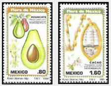 Timbres Flore Fruits Mexique 930/1 ** lot 24721