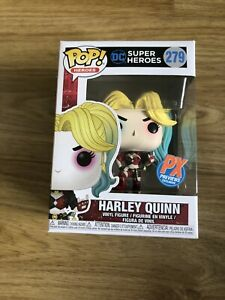 DC Super Heroes Funko Pop Harley Quinn PX Previews + Protector  #279