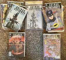 BATMAN SUPERMAN New 52 #1 CGC - COMPLETE Comic Lot of 76 Books! 40 VARIANTS 1st