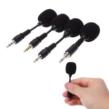 3.5mm Flexible Mobile phone Mini Interface Microphone Stereo For iPhone Android