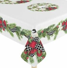 Laural Home Christmas Trimmings Tablecloth