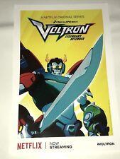 SDCC 2018 Voltron Poster Promo VOLTRON LEGENDARY DEFENDER