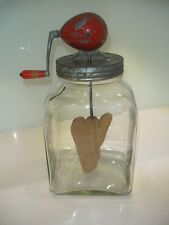 Rare Vintage Blow Butter Churn 6 Quart 6/60 - LR292 in Excellent Used Condition