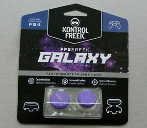 New KontrolFreek GALAXY - PURPLE- PS5/PS4- Sealed - Performance Thumbstick