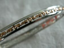 Clogau Sterling Silver & 9ct Rose Gold Tree of Life Bangle RRP £430.00