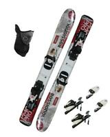 $400 93cm ROSSIGNOL COMP SKIS + BINDINGS +MASK PACKAGE KIDS YOUTH k2-roc INSTALL