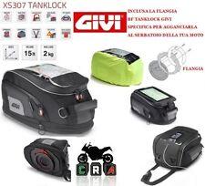 Givi Tankrucksack Set XS307 +Tanklock-Ring Suzuki GSX-S 1000 15-17