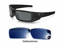 Galaxy Replacement Lenses For-Oakley Gascan Sunglasses Black Color Polarized