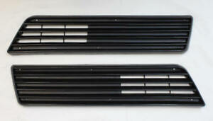 82-84 Firebird Front Bumper Grille PAIR NEW Reproduction HTAUS995