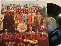 The Beatles: Sgt. Pepper's Lonely Hearts Club Band LP 1983 Capitol SMAS-2653 NM