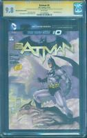 Batman 0 CGC 2XSS 9.8 Jim Lee 608 2nd Print homage original sketch art 2012