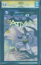 Batman 0 CGC 2XSS 9.8 Jim Lee 608 2nd Print Variant homage # 1 sketch art Cover