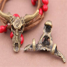 5pc Antique Bronze tauren Pendant Charms Accessories Bead wholesale  PL362