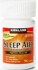 Kirkland Signature Sleep Aid 25 mg / 96 Tablets + Free Worldwide Shipping