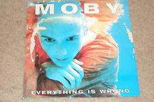 Moby – Everything Is Wrong LP    1995    OLD SKOOL...RARE!!