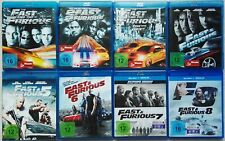 Fast & Furious 1-8 The Fast and The Furious Tokyo Drift Neues Model Blu-Ray Set