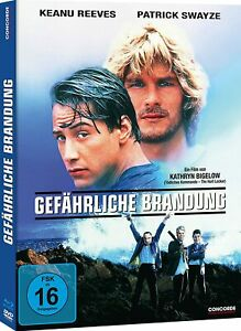 Gefährliche Brandung [Blu-ray + DVD im Limited Mediabook/NEU/OVP] Patrick Swayze