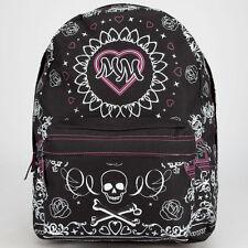 New Metal Mulisha Omen Backpack Book Bag